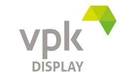 VPK Display logo med hvit bakgrunn