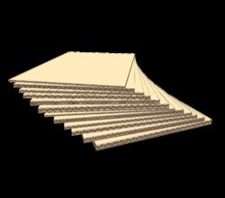 Illustrasjon av bølgepapp