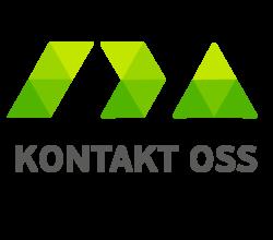 Kontakt oss-logo med ikon-variasjoner