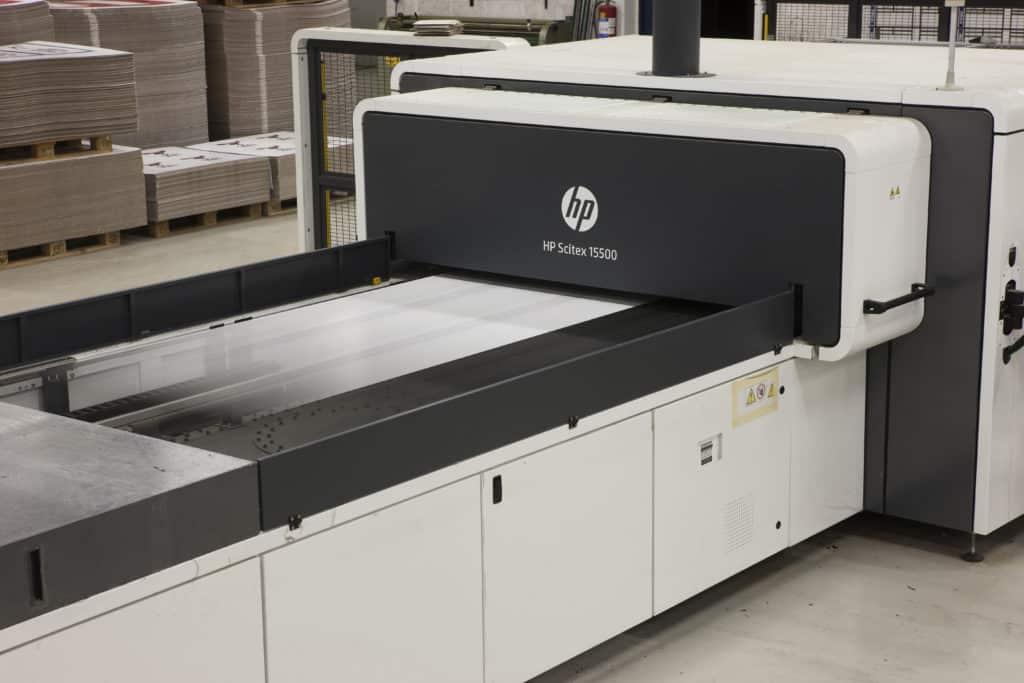Bilde av HP Scitex 15500 digital printer